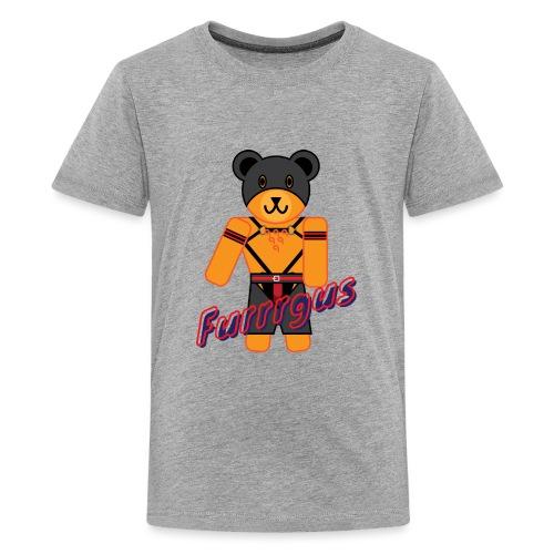 Leather Furrrgus - Kids' Premium T-Shirt