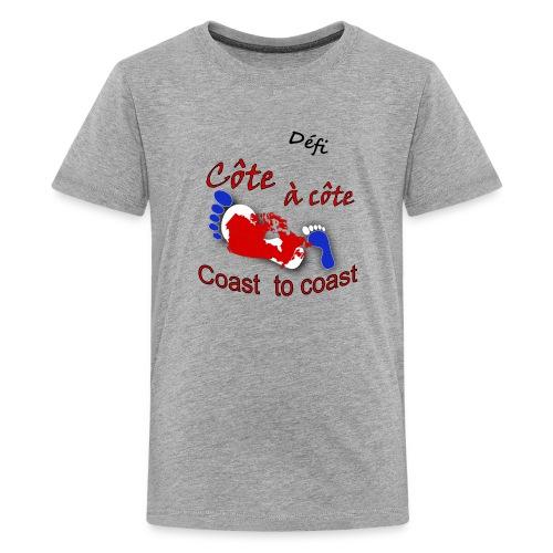 Défi côte à côte - Kids' Premium T-Shirt