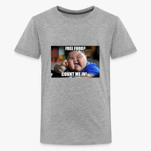 Free Food Count me in! - Kids' Premium T-Shirt