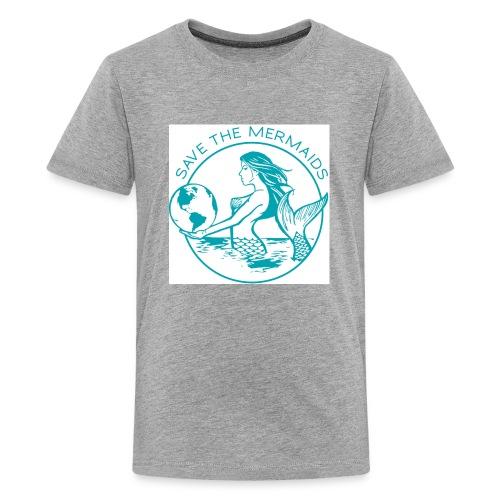 Save the mermaid - Kids' Premium T-Shirt