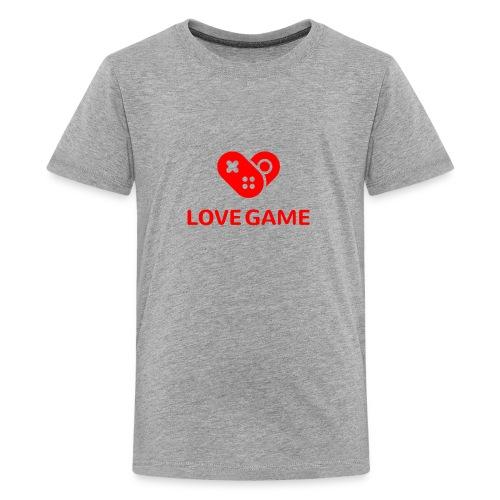 I love this game logo - Kids' Premium T-Shirt