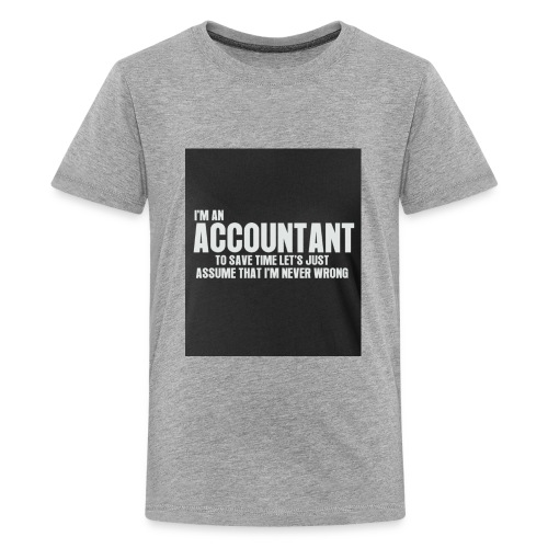 accountant - Kids' Premium T-Shirt