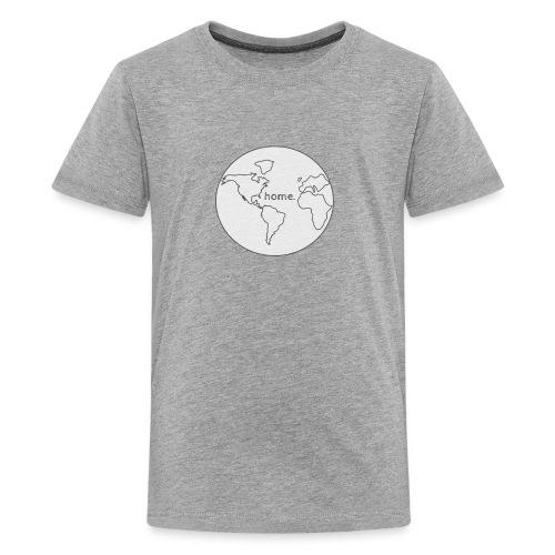 Earth is Home - Kids' Premium T-Shirt