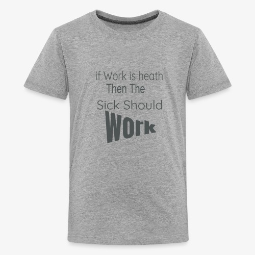 funny produc desinf for nurse and doctor day off, - Kids' Premium T-Shirt