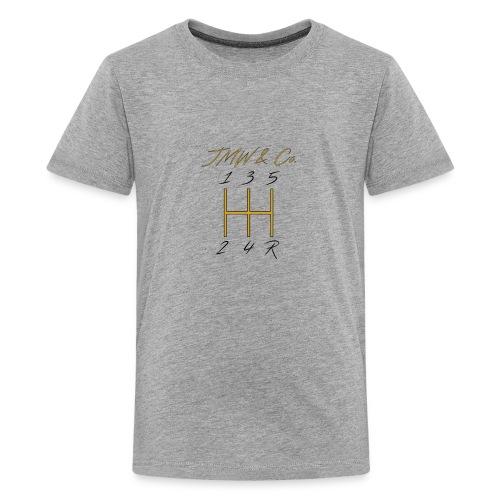 JWM and Co Shift Knob - Golden Standard - Kids' Premium T-Shirt