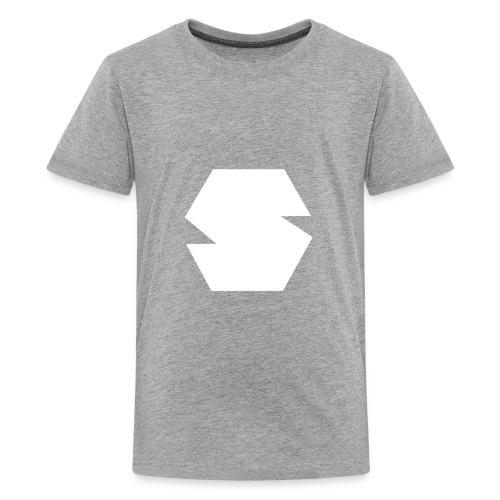 Species Logo White - Kids' Premium T-Shirt