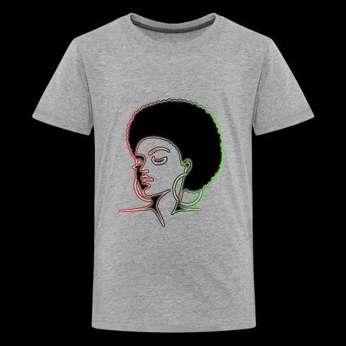Afrolady - Kids' Premium T-Shirt