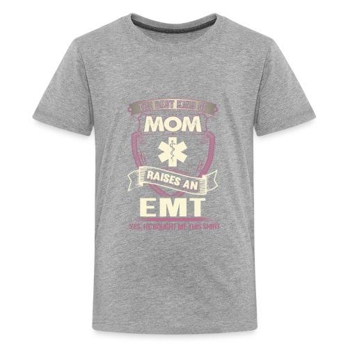 The best kind of MOM Is Raises an EMT - Kids' Premium T-Shirt