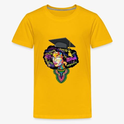 Smart Black Woman - Kids' Premium T-Shirt