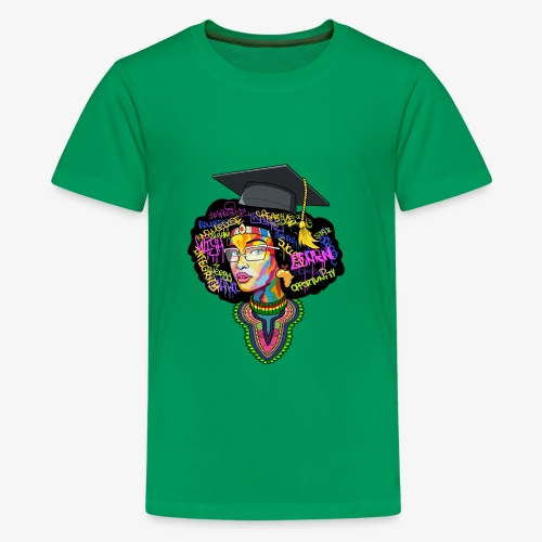 Smart Black Woman - Kids' Premium T-Shirt