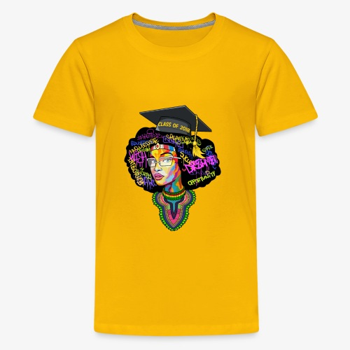 Smart Graduation Woman - Kids' Premium T-Shirt