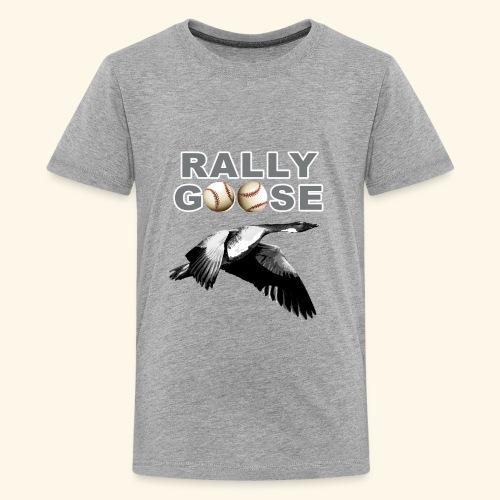 Detroit Rally Goose Baseball Lucky Charm Design - Kids' Premium T-Shirt