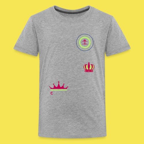 Cashmere C Crown - Kids' Premium T-Shirt