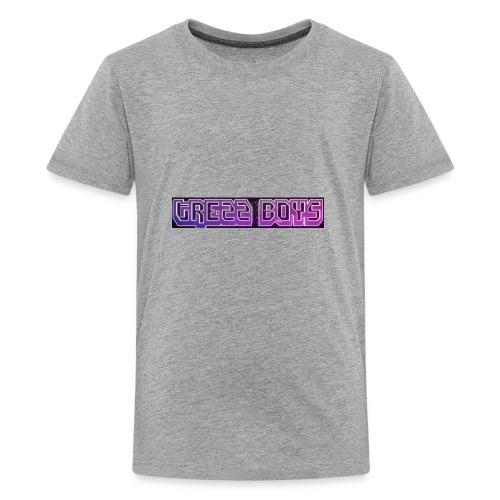 Trezz boys men's sweater - Kids' Premium T-Shirt
