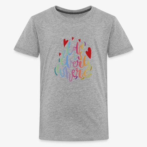 Love is everywhere - Kids' Premium T-Shirt