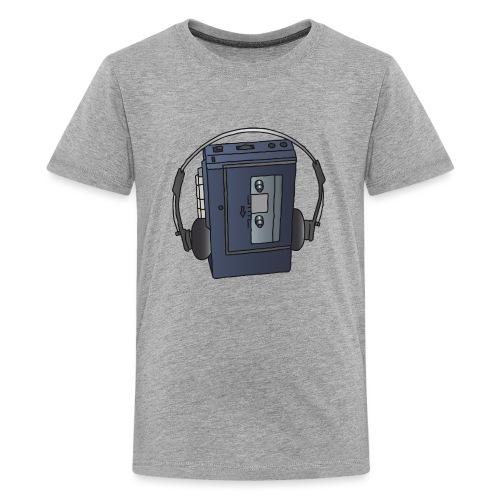 WALKMAN cassette recorder - Kids' Premium T-Shirt