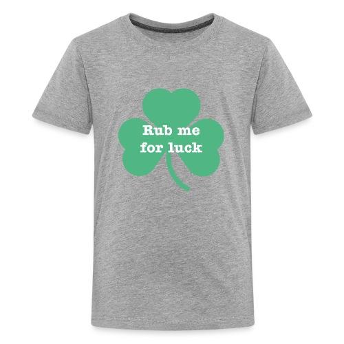 Rub me for luck - Kids' Premium T-Shirt