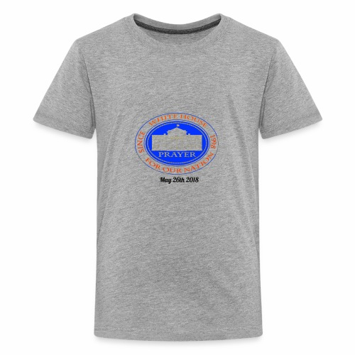 White House Prayer T-Shirt - Kids' Premium T-Shirt