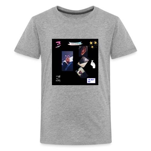 InShot 20180412 233220488 - Kids' Premium T-Shirt