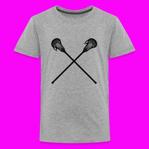Lacrosse - Kids' Premium T-Shirt