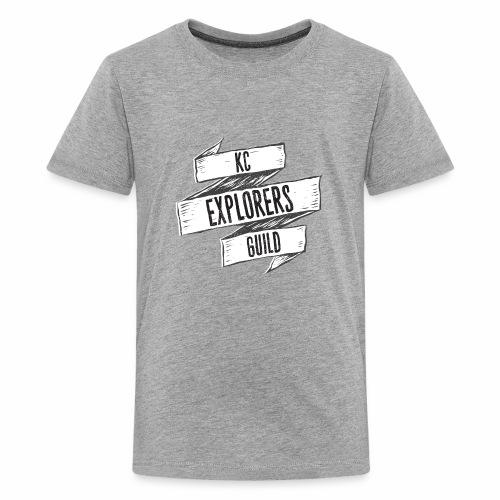 KCEG 3 Ribbon Logo - Kids' Premium T-Shirt