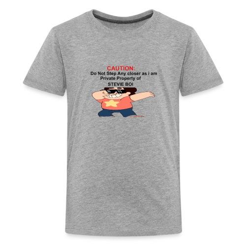 CAUTION - Kids' Premium T-Shirt