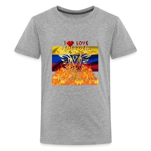 Venezuela reborn - Kids' Premium T-Shirt