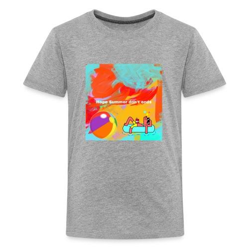 Hope summer don't ends - Kids' Premium T-Shirt