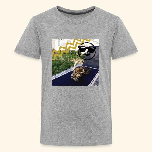 Theos summer bag - Kids' Premium T-Shirt
