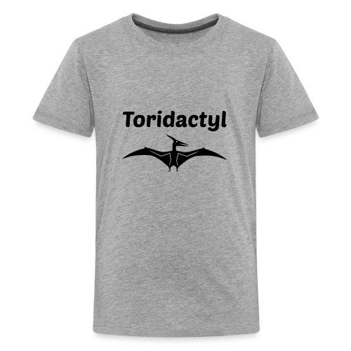Tori Davis Black Toridactyl Merch Design - Kids' Premium T-Shirt