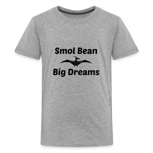 Tori Davis Smol Bean Big Dreams Black Merch Design - Kids' Premium T-Shirt