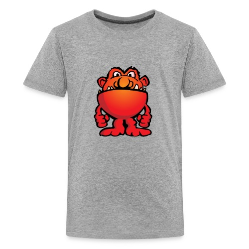 Cartoon Monster Alien - Kids' Premium T-Shirt