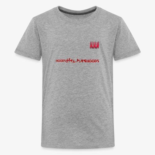 Hoods Helping Hoods - Kids' Premium T-Shirt