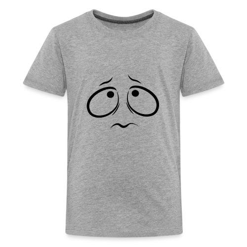 Sad face - Kids' Premium T-Shirt