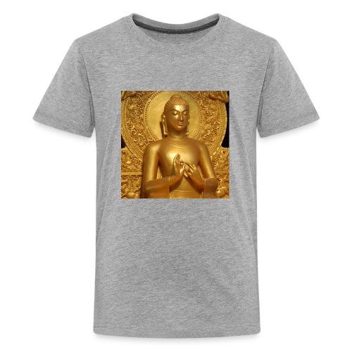 golden buddha - Kids' Premium T-Shirt