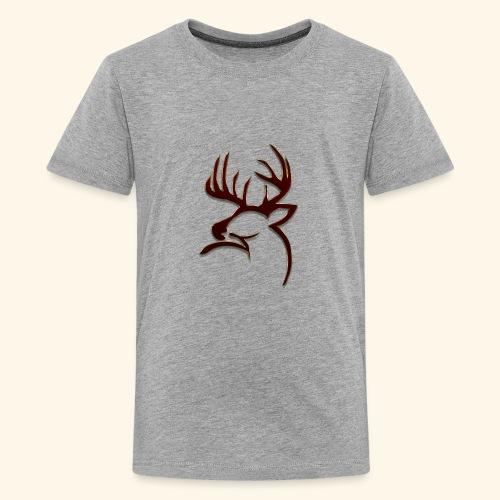 Buck Logo - Kids' Premium T-Shirt