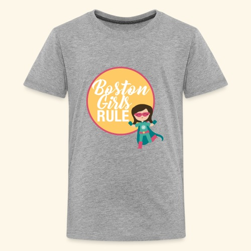 Boston Girls Rule - Kids' Premium T-Shirt