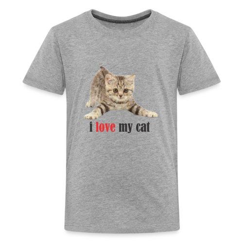 lovecat - Kids' Premium T-Shirt