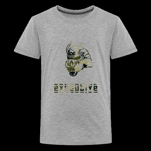 camo_exec - Kids' Premium T-Shirt