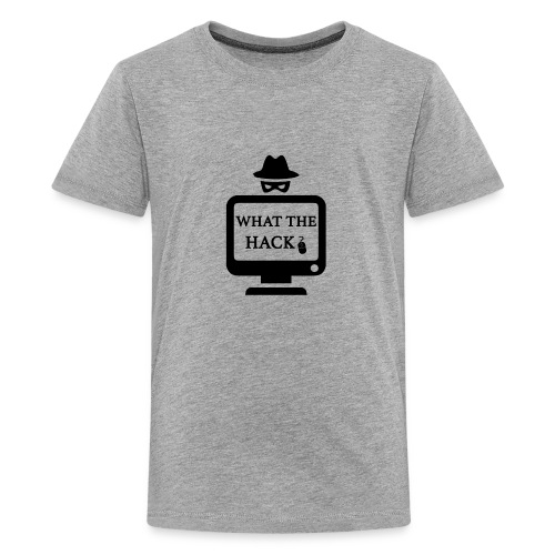 ANONYMOUS What the Hack ? hackers - Kids' Premium T-Shirt