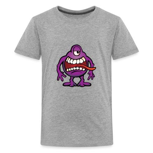 Cartoon Monster Alien - Kids' Premium T-Shirt