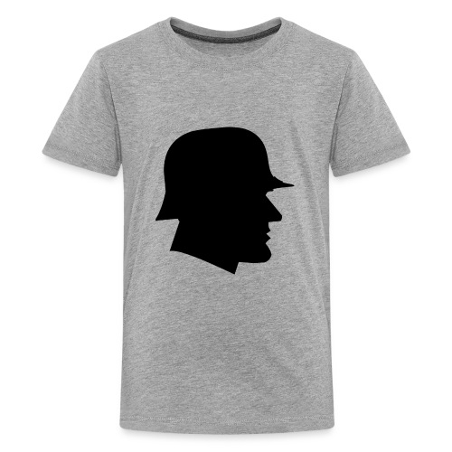 Soldier silhouette - Kids' Premium T-Shirt