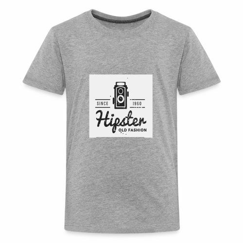 hipster4 - Kids' Premium T-Shirt