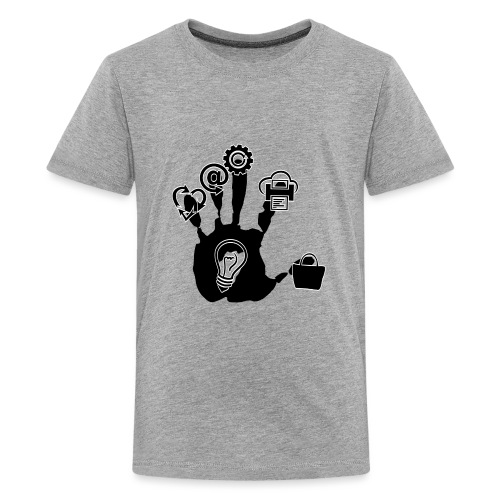 Hand of ideas - Kids' Premium T-Shirt