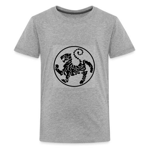 Shotokan-Tiger_black - Kids' Premium T-Shirt