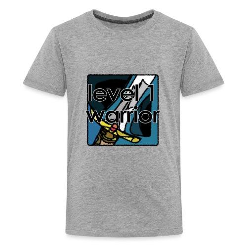 Warcraft Baby: Level 1 Warrior - Kids' Premium T-Shirt