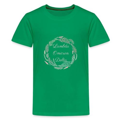 LOD Flower Wreath 1 - Kids' Premium T-Shirt