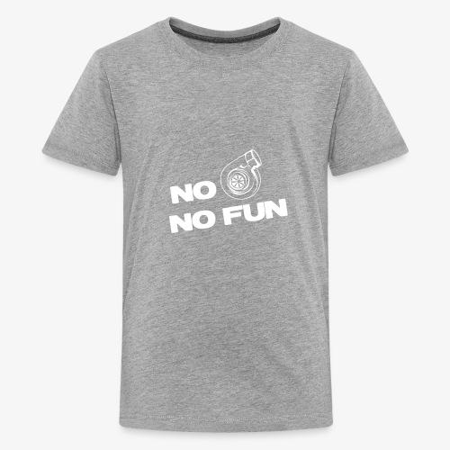 No turbo no fun - Kids' Premium T-Shirt