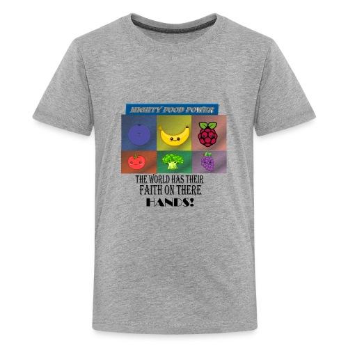 MIGHTY FOODS POWER - Kids' Premium T-Shirt