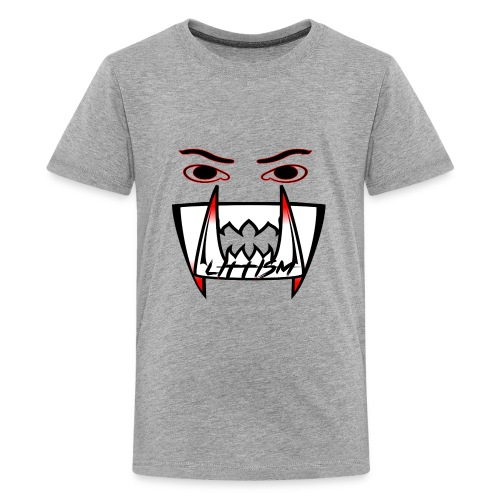 Littism Vampire Glory Face - Kids' Premium T-Shirt